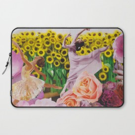 "Housse PC Portable - ""Sunflower"""