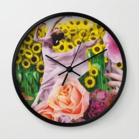 "Horloge murale - ""Sunflower"""