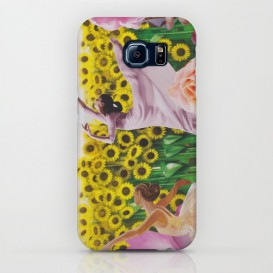 "Coque Galaxy S - ""Sunflower"""