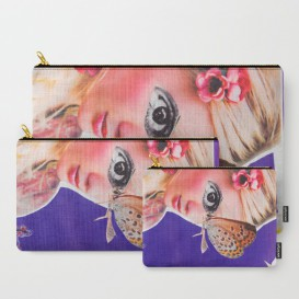 "Pochette Carry-All - ""The Butterfly"""