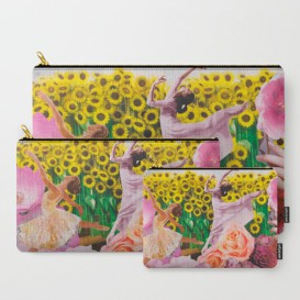 "Pochette Carry-All - ""Sunflower"""