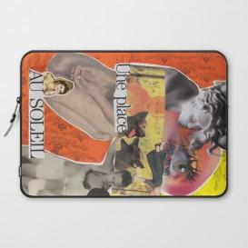 """Housse PC Portable - """"Une Place au Soleil"""""""