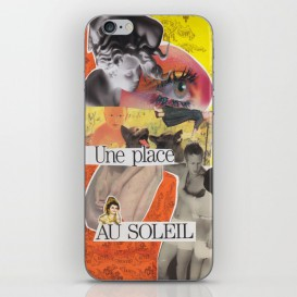 "Skin iPhone / iPad - ""Une Place au Soleil"""