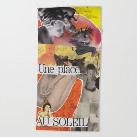 """Serviette de Plage - """"Une Place au Soleil"""""""