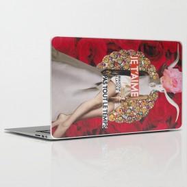 """Skin PC Portable - """"Je t'aime, beaucoup, à la folie... Pas tout le temps"""""""