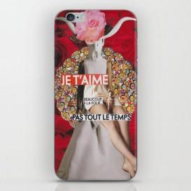 """Skin iPhone / iPad - """"Je t'aime, beaucoup, à la folie... Pas tout le temps"""""""