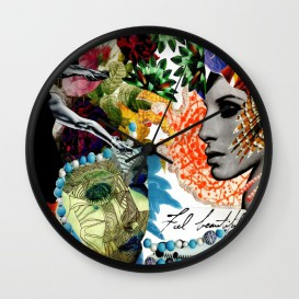 "Horloge murale - ""Feel Beautiful"""