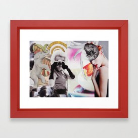 """Impression d'Art encadrée - """"Monroe and Me"""""""