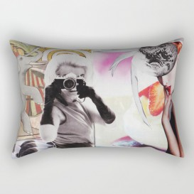 """Coussin Décoratif - """"Monroe and Me"""""""