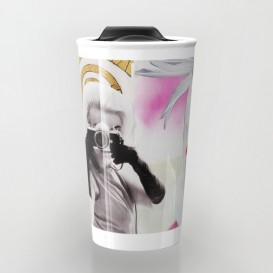"Mug de voyage - ""Monroe and Me"""