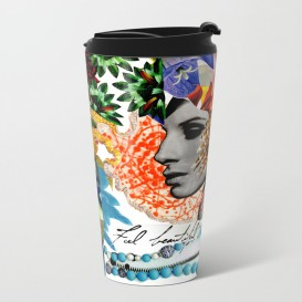 "Mug de voyage - ""Feel Beautiful"""