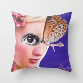 "Coussin Décoratif - ""The Butterfly"""