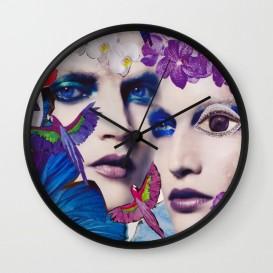 """Horloge murale - """"The Bluemood"""""""