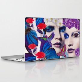 "Skin PC Portable - ""The Bluemood"""