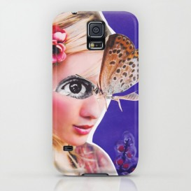 "Coque Galaxy S - ""The Butterfly"""