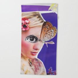 """Serviette de Plage - """"The Butterfly"""""""