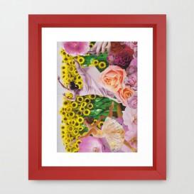 """Impression d'Art encadrée - """"Sunflower"""""""