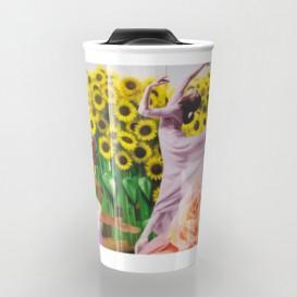 "Mug de voyage - ""Sunflower"""
