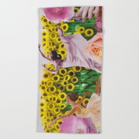 """Serviette de Plage - """"Sunflower"""""""
