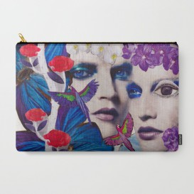 "Pochette Carry All - ""The Bluemood"""