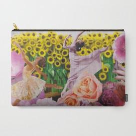 """Pochette Carry-All - """"Sunflower"""""""