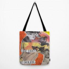 """Tote Bag - """"Une Place au Soleil"""""""