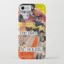 "Coque iPhone - ""Une Place au Soleil"""