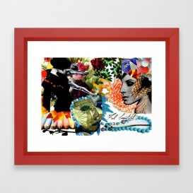 """Impression d'Art encadrée - """"Feel Beautiful"""""""