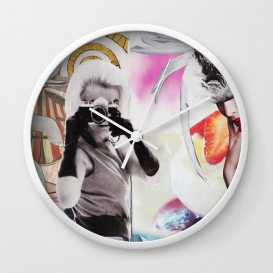"""Horloge murale - """"Monroe and Me"""""""