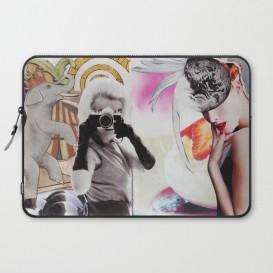 "Housse PC Portable - ""Monroe and Me"""