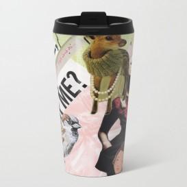 "Mug de voyage - ""Coffee, tea, or me?"""
