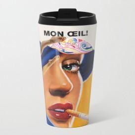 """Mug de voyage - """"Mon Oeil"""""""