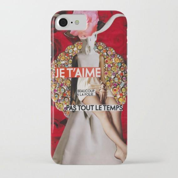 """Coque iPhone - """"Je t'aime, beaucoup, à la folie... Pas tout le temps"""""""