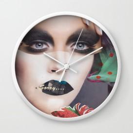 """Horloge murale - """"Sorry"""""""