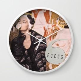 """Horloge murale - """"Focus"""""""