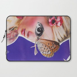 """Housse PC Portable - """"The Butterfly"""""""