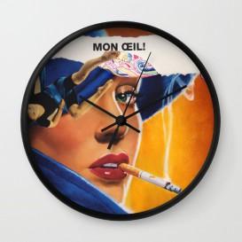 "Horloge murale - ""Mon Oeil"""